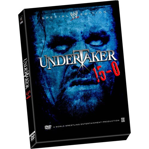 PWMania.com - WWE Special Edition Undertaker 15-0 DVD Cover
