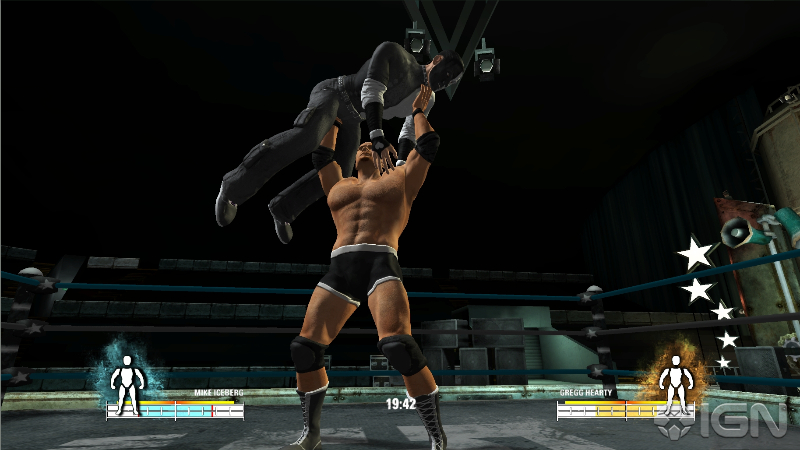 New Wrestling Game For Ps3 : Photos new screen shots for upcoming playstation game