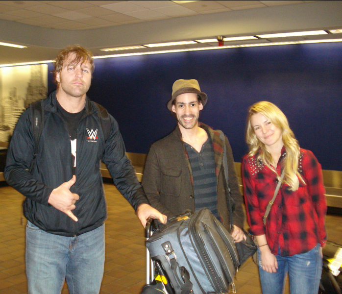 Photos Of WWE Couple Dean Ambrose  amp  Renee Young Hanging Out     PWMania