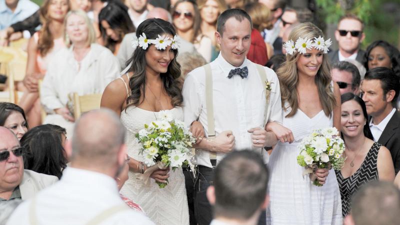 Brie bella wedding