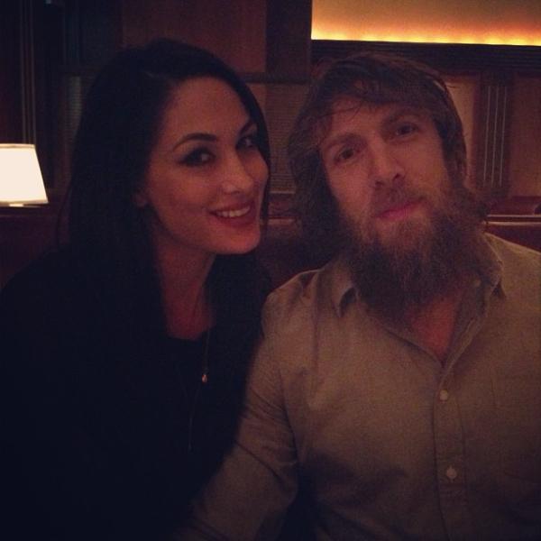 Photos Of WWE Couple - Brie Bella & Daniel Bryan   PWMania