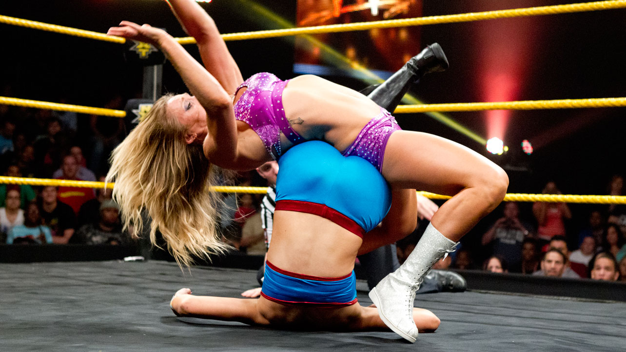 Photos Of Ric Flair S Daughter Charlotte S Wwe Nxt Debut