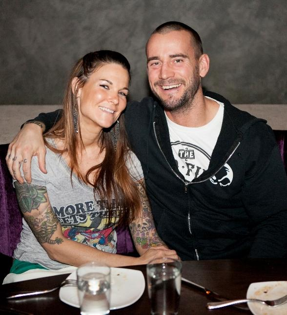Who is cm punk dating now 2013