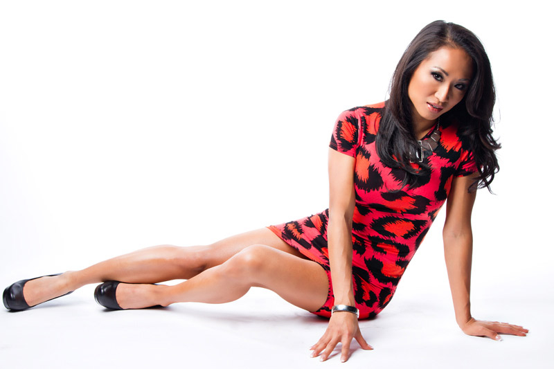 Hot Photos Of Gail Kim Showing Off Her Stunning Body | PWMania