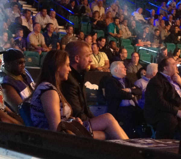 Latest News Update Hhh: Photos Of Triple H & Stephanie McMahon At Floyd Mayweather