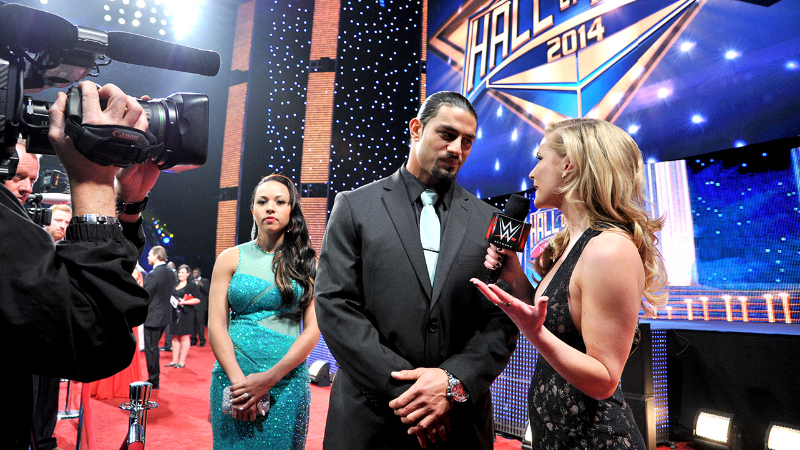 Photos Of Roman Reigns With His Girlfriend Pwmania