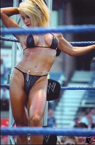 Wrestling diva candice nude modeling 2