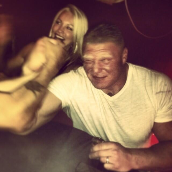 Photos Of Brock Lesnar and His Wife Sable | PWMania