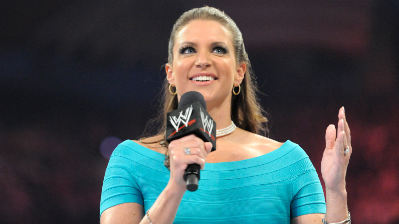 Photos: Stephanie McMahon Booty Shot & Pokes Out Of Her Tight Dress At