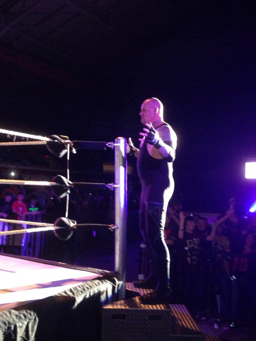 Undertaker wwe 2013 return