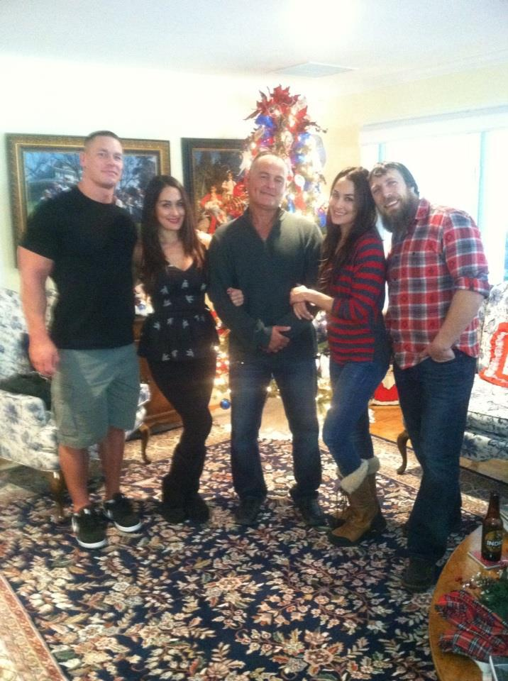 Photos: John Cena Spends Christmas With The Bella Twins ...