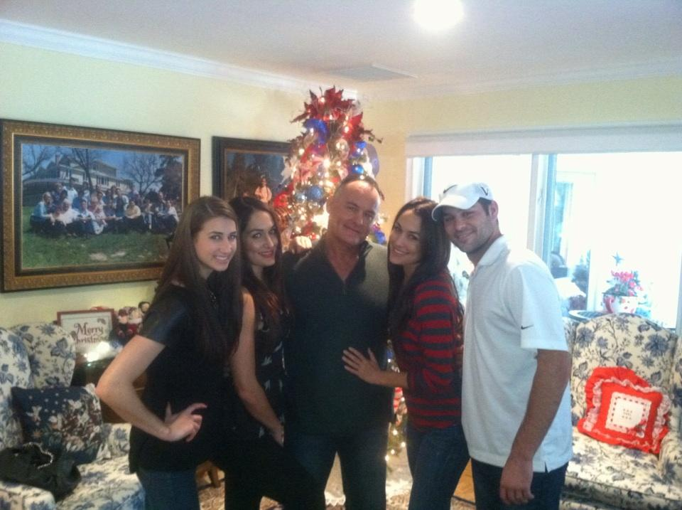 Photos: John Cena Spends Christmas With The Bella Twins & Daniel ...