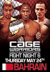 cage warriors fight night 6