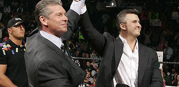 vince mcmahon and shane relationship