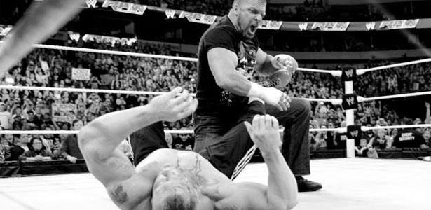 lesnar-hhh-raw