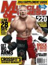 Picture: Brock Lesnar On The Cover Of April 2013's Muscle ...