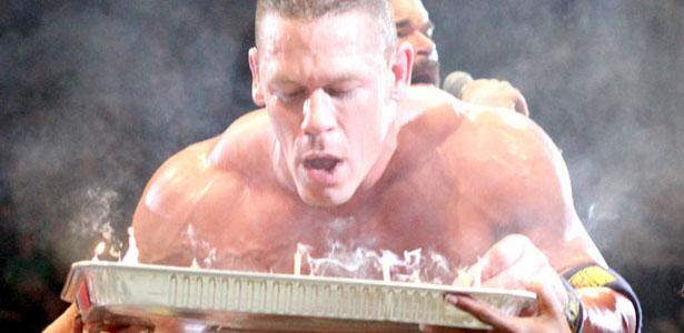 Remarkable Photos John Cena Celebrates His Birthday In The Ring At Wwe Raw Personalised Birthday Cards Veneteletsinfo