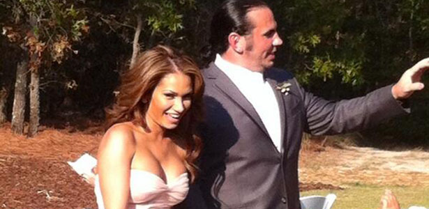 Matt hardy and reby sky wedding dress