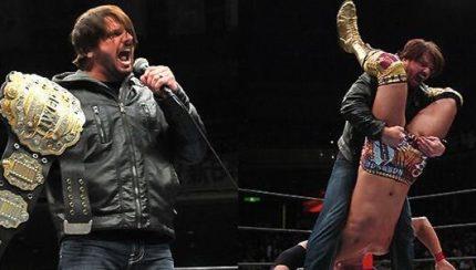 AJ Styles NJPW