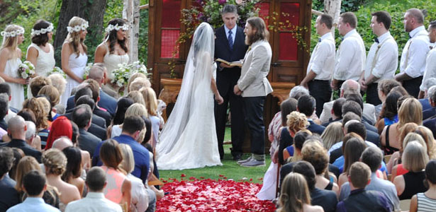 Photos From Daniel Bryan And Brie Bellas Wedding