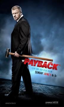 Постеры Payback и Money in The Bank