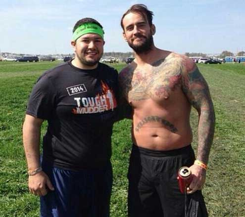 NSFW review image preview for https://www.pwmania.com/wp-content/uploads/2014/05/cm-punk-tough-mudder.jpg