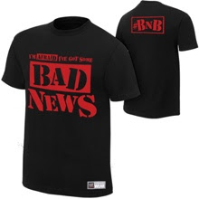 "Bad News Barrett ""Bad News"" Men's T-shirt"