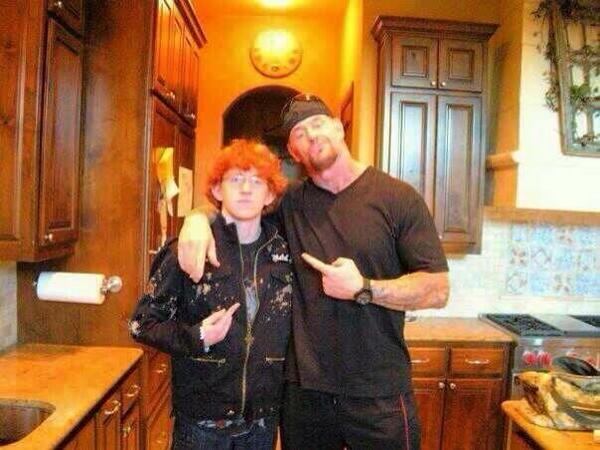 Rare Photo Of The Undertaker With His Son | PWMania
