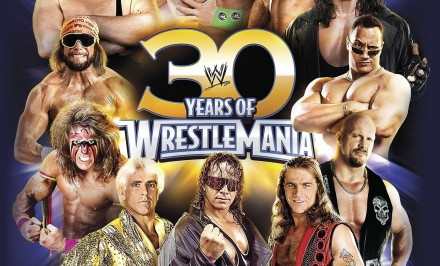 30years of wrestlemania book
