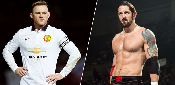 Wayne Rooney Vs Bad News Barrett