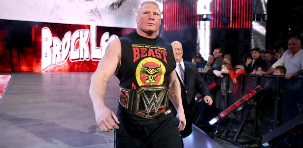 WWE Is Really Pushing For World Heavyweight Champion Brock Lesnar To Sign A New Deal On Monday At RAW Instead Of The End Month After WrestleMania