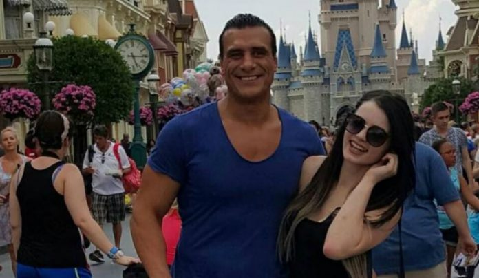 Alberto El Patron addresses rumored breakup with Paige