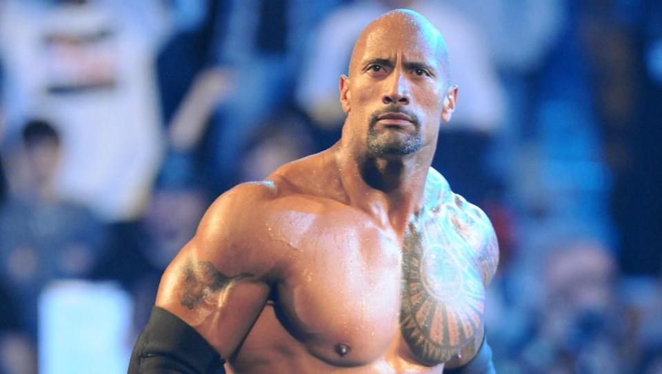 Images Of The Rock Wwe: The Rock Tweets With NXT Superstar, Xavier Woods Unboxes