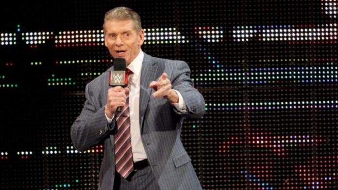Vince McMahon pointing