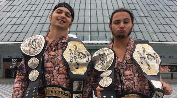 WWE Issues Young Bucks Cease and Desist Letter over 'Too Sweet' Gesture