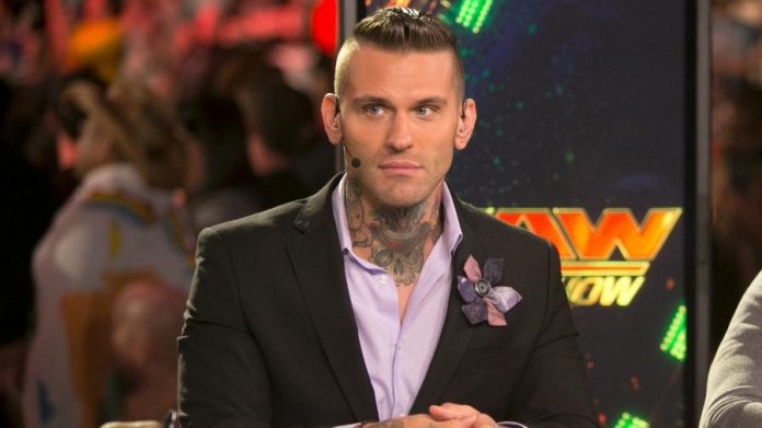 Corey Graves is Replacing JBL on Smackdown Live Commentary