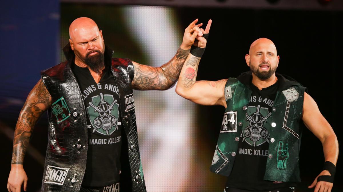 Detalhes dos contratos de Luke Gallows e Karl Anderson com a IMPACT Wrestling