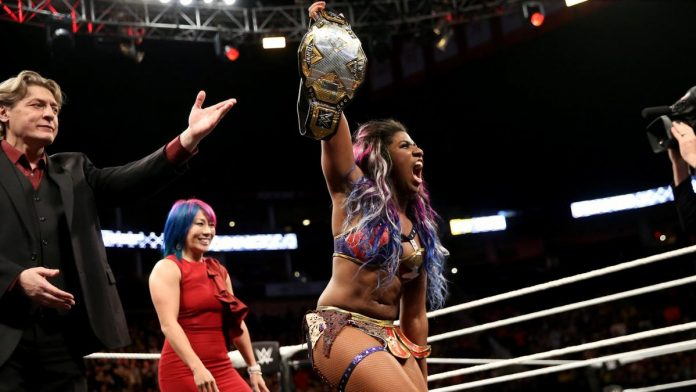 Image result for Ember Moon nxt women's champion