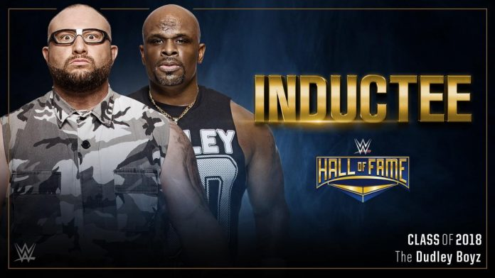 WWE names The Dudley Boyz to the Hall of Fame