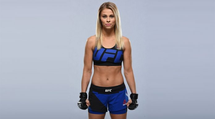 UFC Fighter Paige VanZant