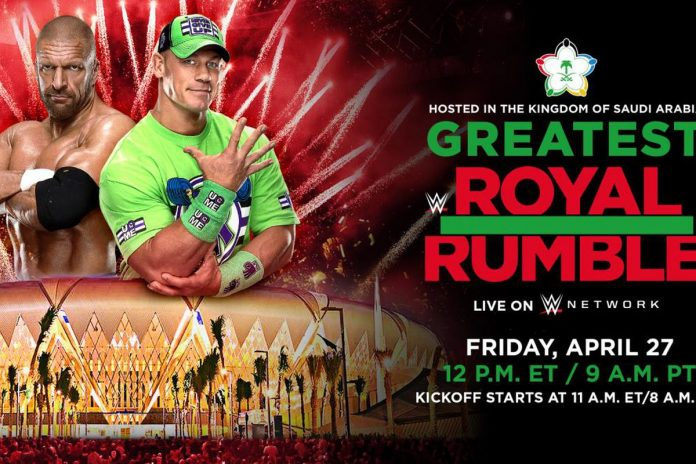 WWE Spoilers: Updated card for The Greatest Royal Rumble