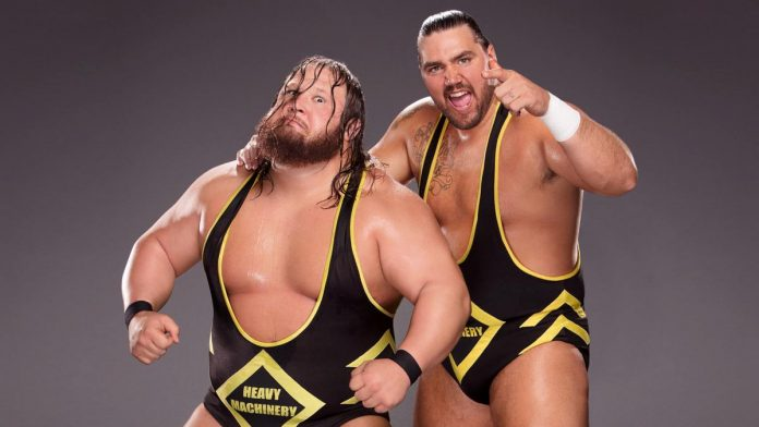 Image result for WWE Heavy Machinery Smackdown