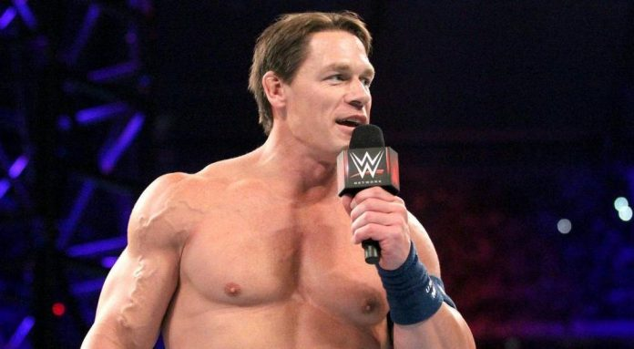 John Cena Explains What S Going On With His Hair Pwmania