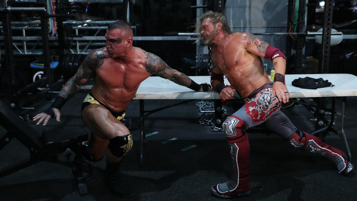 Edge On Wrestling Randy Orton At Wrestlemania 36 Without Any WWE Fans 1